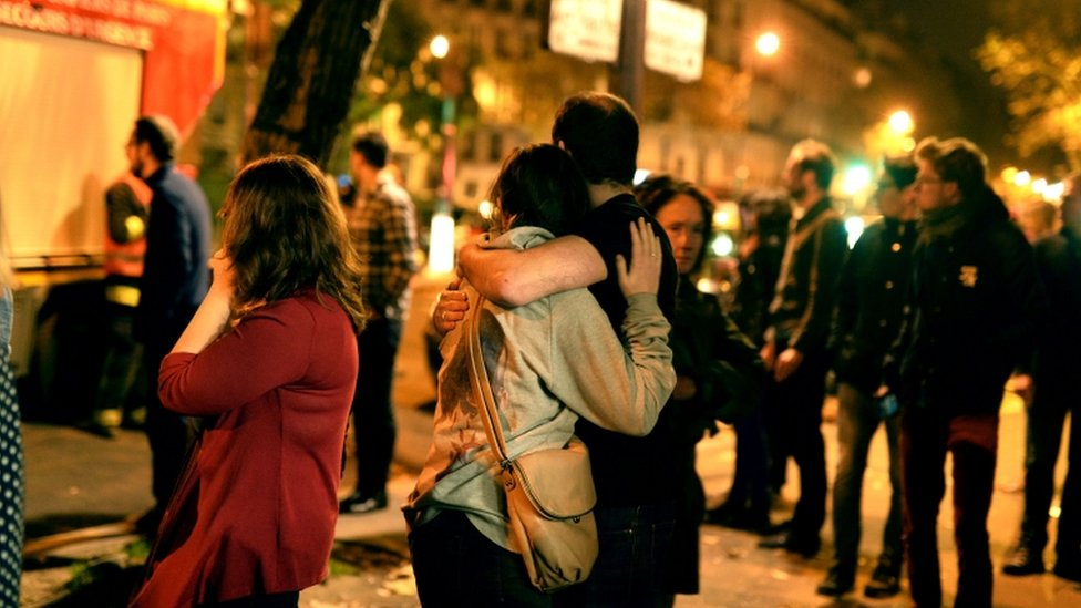The Bataclan concert hall attack in Paris in November 2015