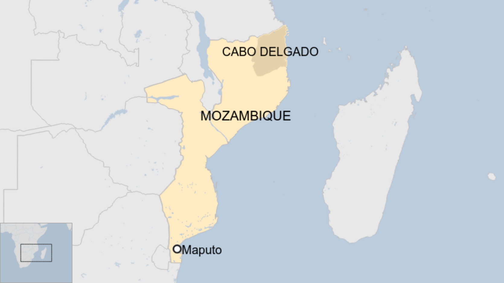 Mozambique video of killing fake, says defence minister thumbnail
