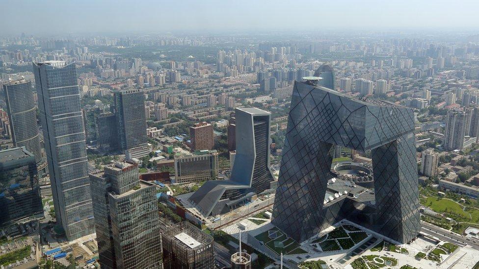 Panorámica de Pekín.