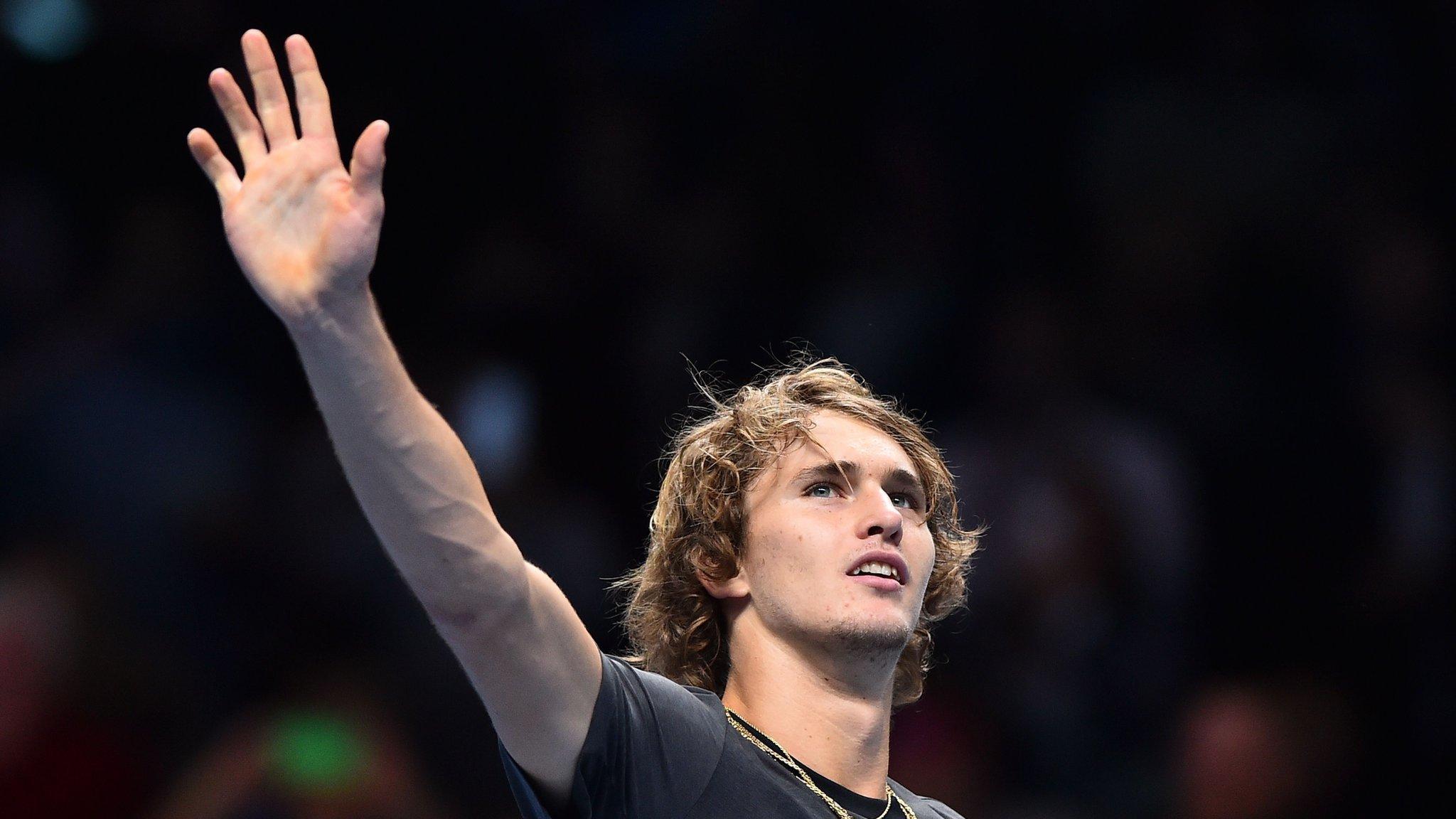ATP Finals: Alexander Zverev beats John Isner to set up Roger Federer semi-final