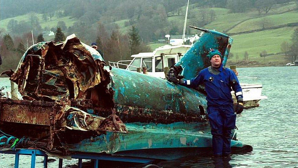 Bluebird salvage operation