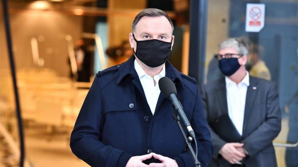 Polonya Cumhurbaşkanı Cumhurbaşkanı Andrzej Duda Covid-19'a yakalandı