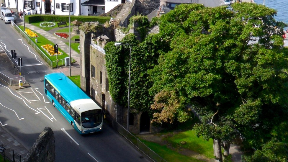 Annual bus mileage in Wales fell by a fifth between 2006-07 and 2016-17, a loss of 15 million miles.