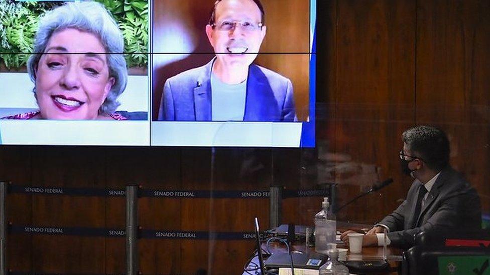Entrevista de Carlos Wizard é exibida na CPI