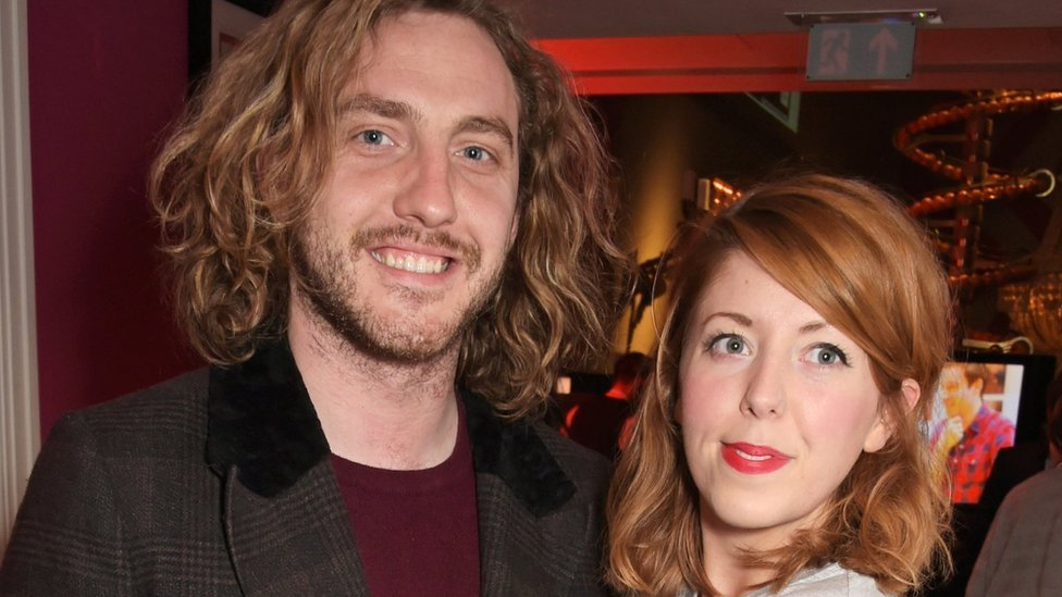 Seann Walsh and Rebecca Humphries