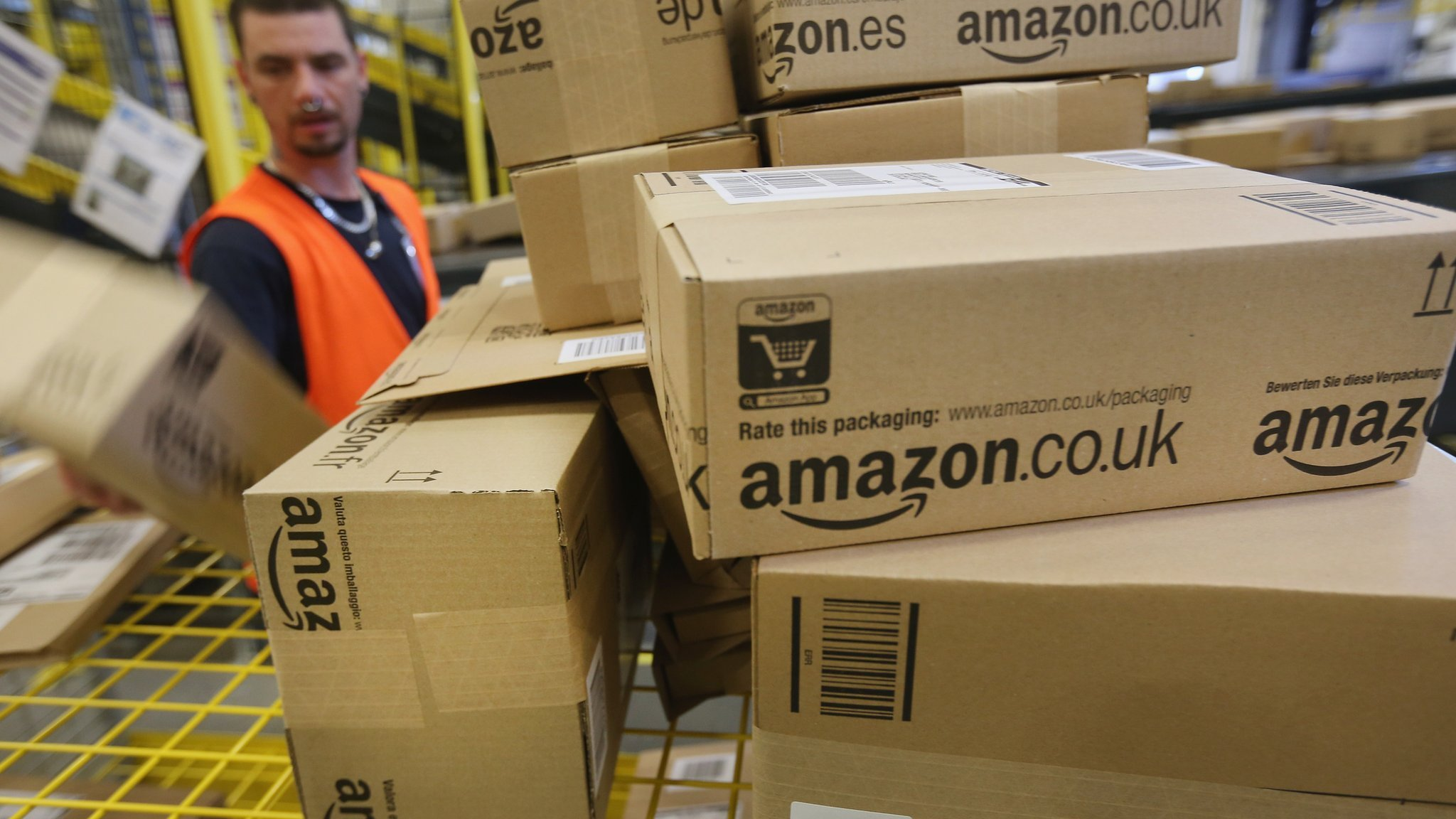 Amazon profits are sharply lower as it invests overseas