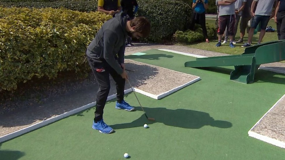 Crazy golf champion: 'It's a serious thing for me'