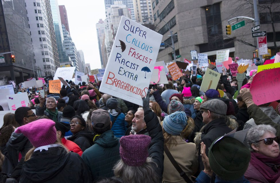 The NYC Women's March