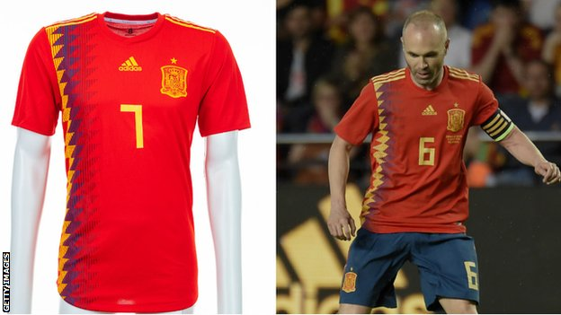 Spain and Andres Iniesta