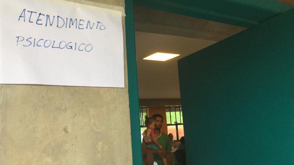 Centro de Información de Vale en Brumadinho