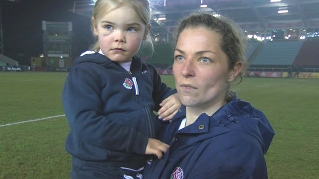 Emma Croker and daughter