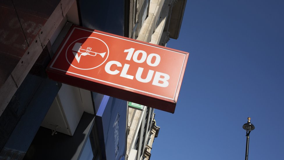 BBC News - London's 100 club: Historic music venue given special status