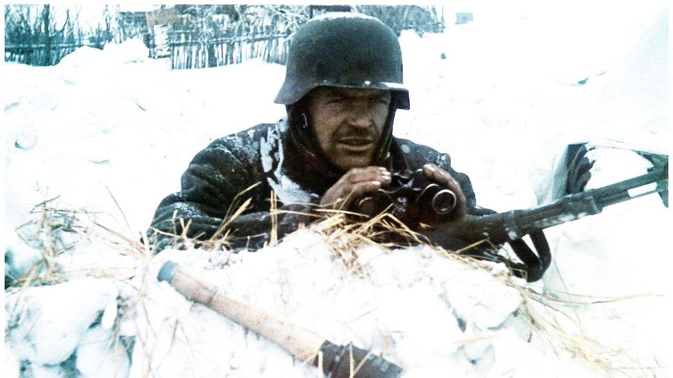La dureza del invierno ruso frenó el avance de la temible infantería alemana.