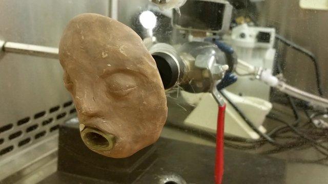 A 'vomit machine' developed by North Carolina State University