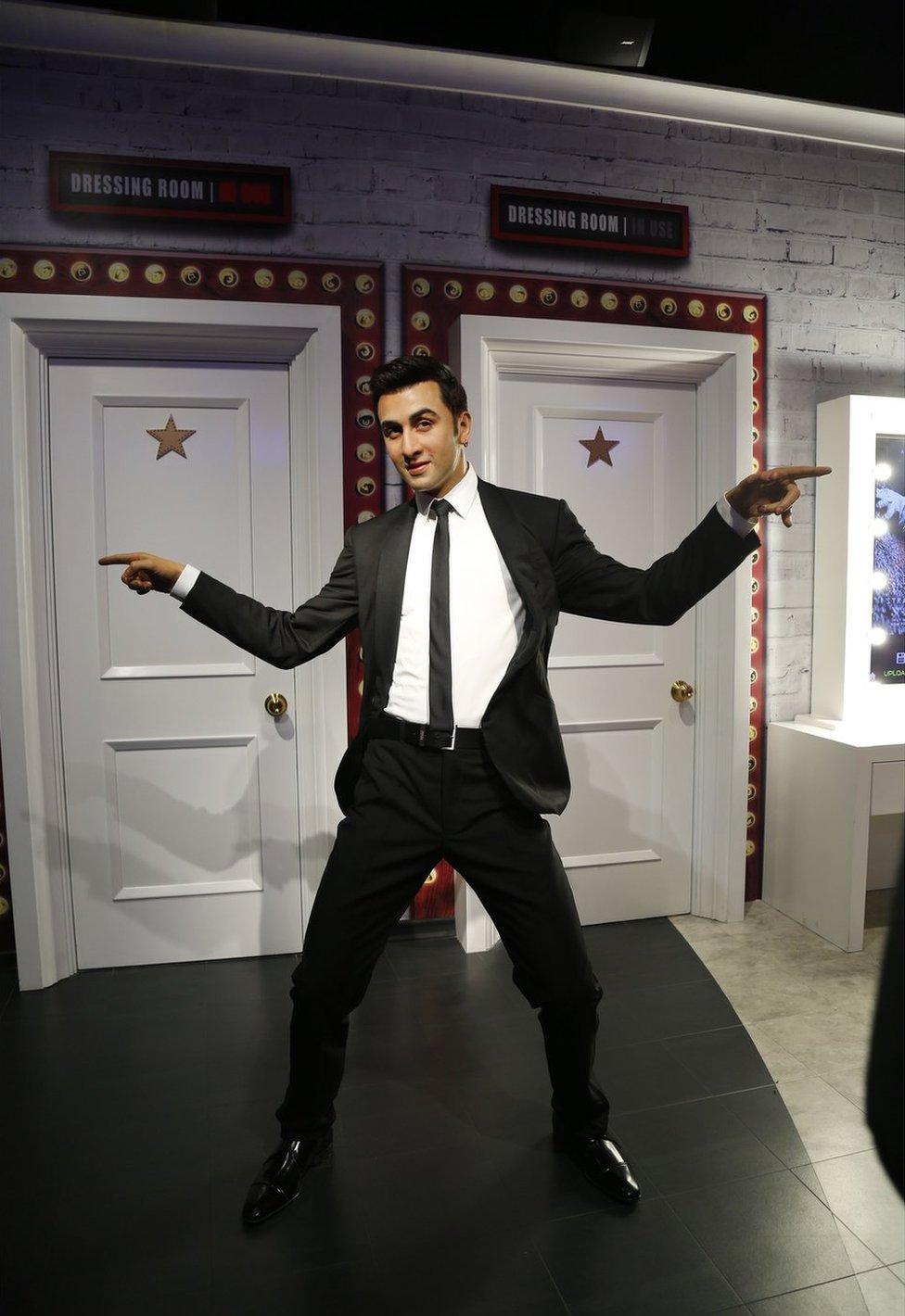 Bollywood actor Ranbir Kapoor's model