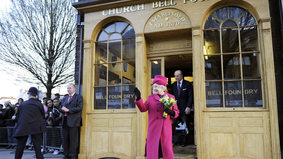 The Queen visited in 2009