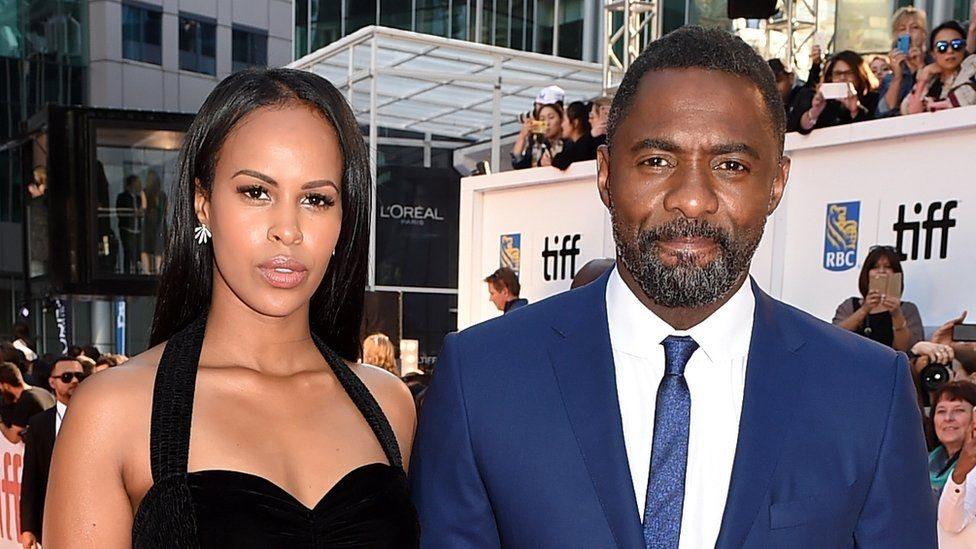 Sabrina Dhowrie e Idris Elba