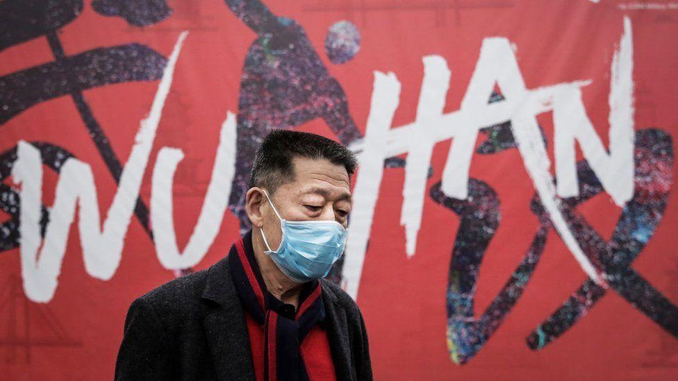 Un ciudadano de Wuhan