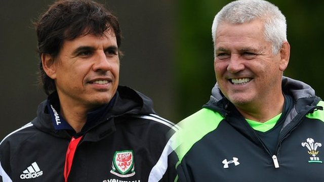 Chris Coleman and Warren Gatland