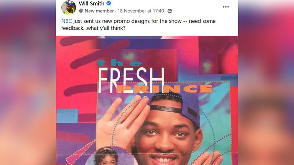Will Smith's Facebook post
