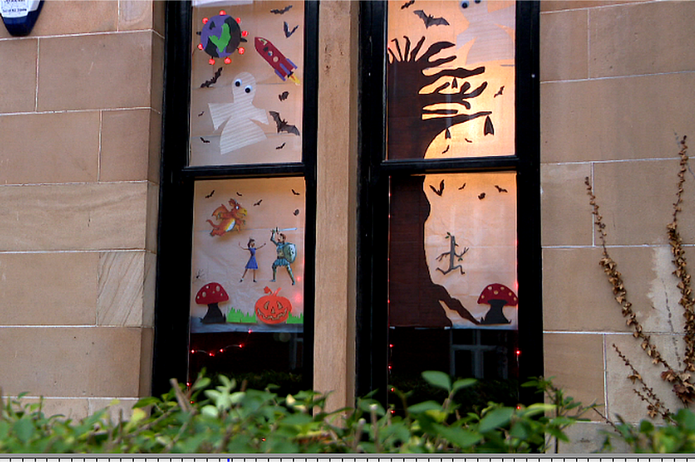 Julia Donaldson window