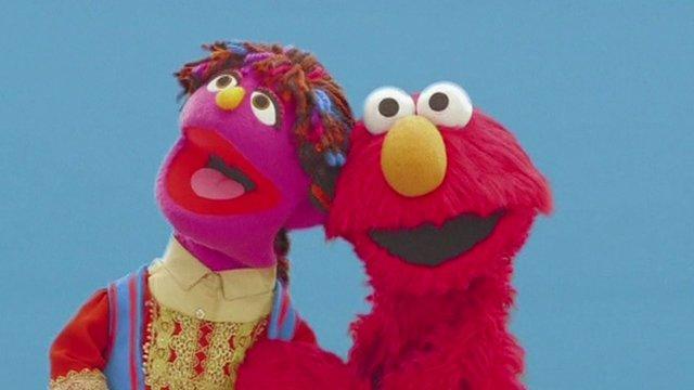 Zari the muppet
