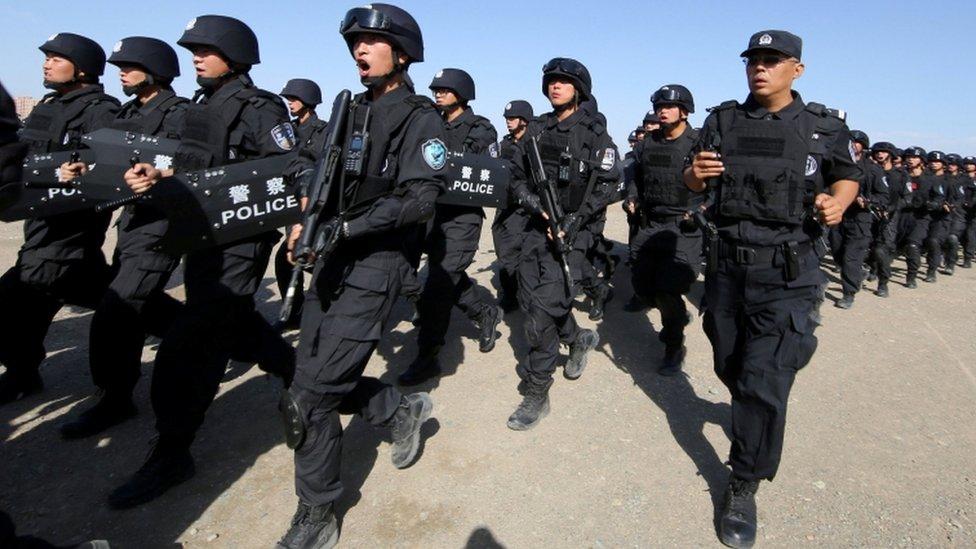 قمع الصين للمسلمين الإيغور أثار انتقادات دولية للصين