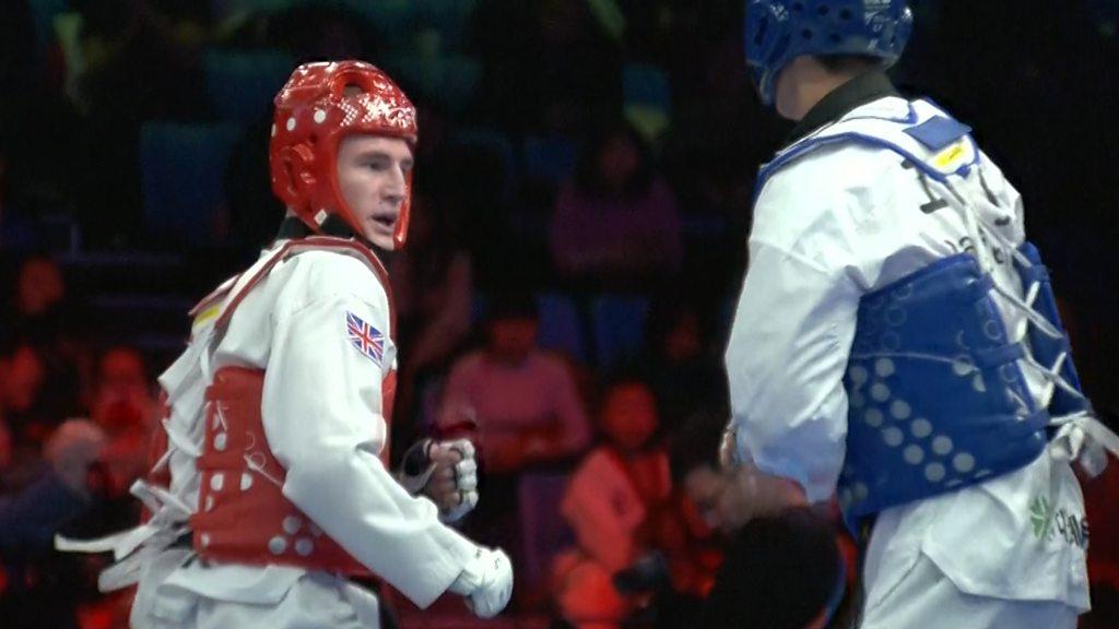 Taekwondo: GB's Bradly Sinden beats Dae-hoon Lee to reach final
