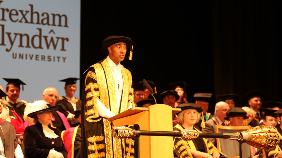 Colin Jackson made Wrexham Glyndwr University Chancellor