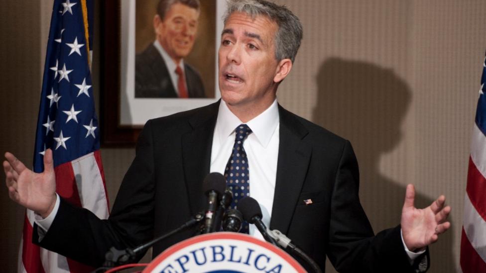 Joe Walsh, excongresista republicano del estado de Illinois.