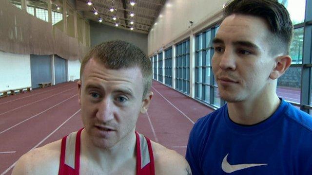 Olympic bronze medallists Paddy Barnes and Michael Conlan