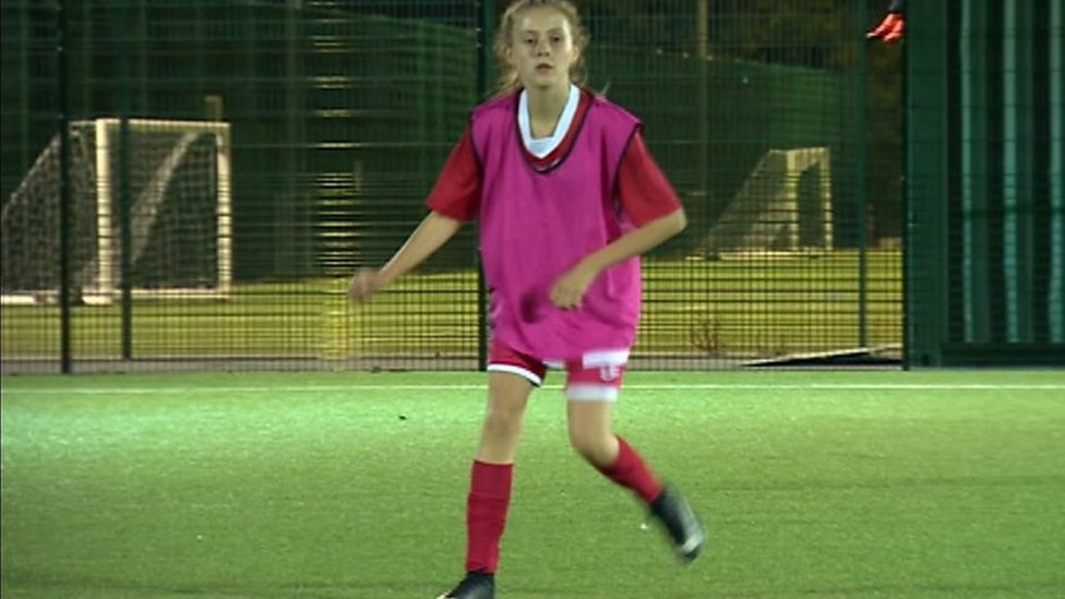 Gender stereotypes: Bullies 'won't stop me playing football'