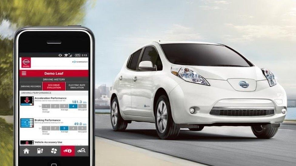 NissanConnect app