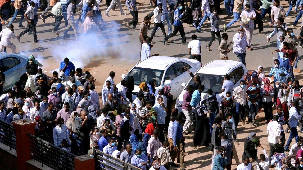 احتجاجات في السودان