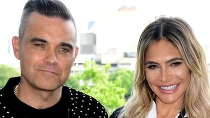 BBC News - Robbie Williams and Ayda Field quit X Factor