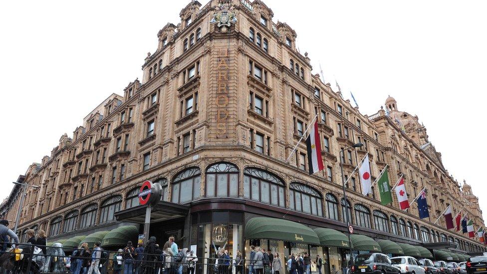 Harrods department store
