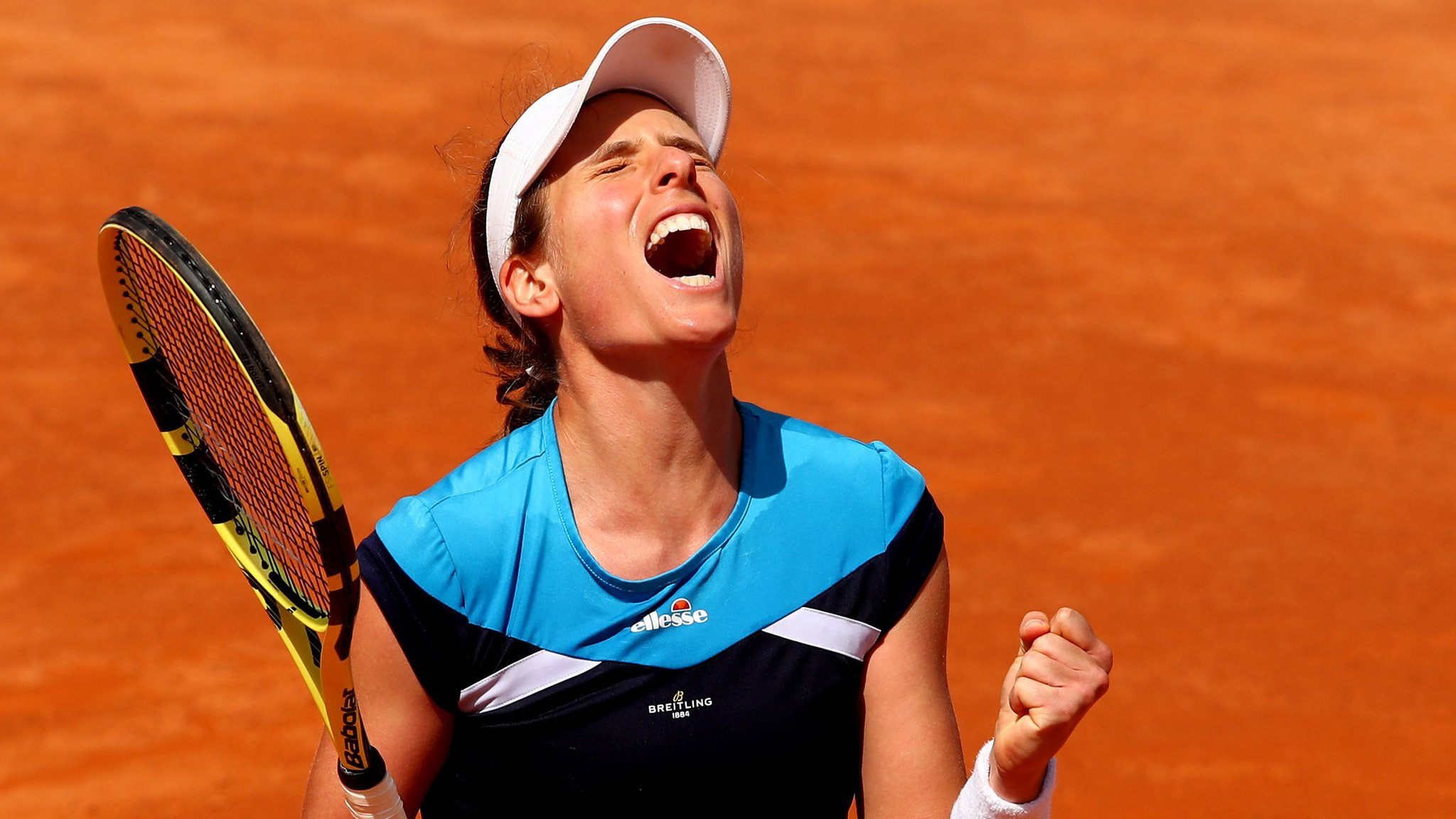 Italian Open: Johanna Konta faces Karolina Pliskova in final after beating Kiki Bertens