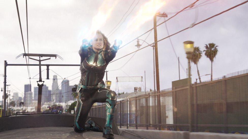 Bri Larson kao Kapetan Marvel