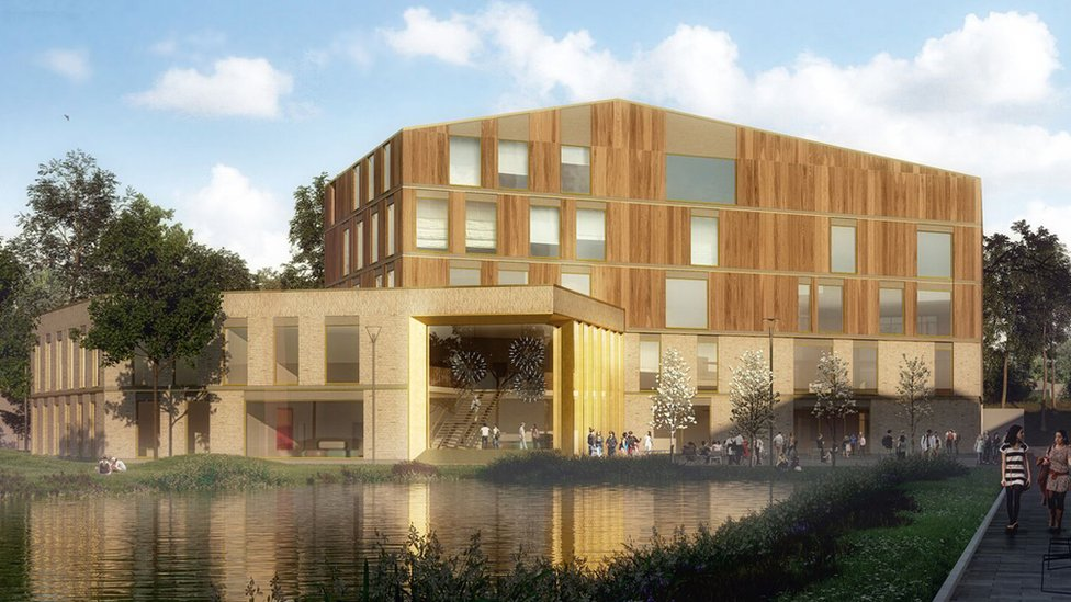 Designs for Lincoln University £21m medical school unveiled
