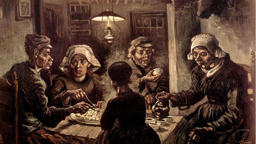 Vincent van Gogh'un ünlü 'Patates Yiyenler' tablosu