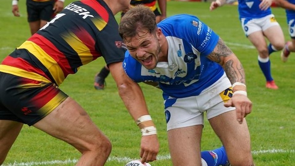 Mike Butt: Swinton Lions winger gets Wales RL call after wedding text