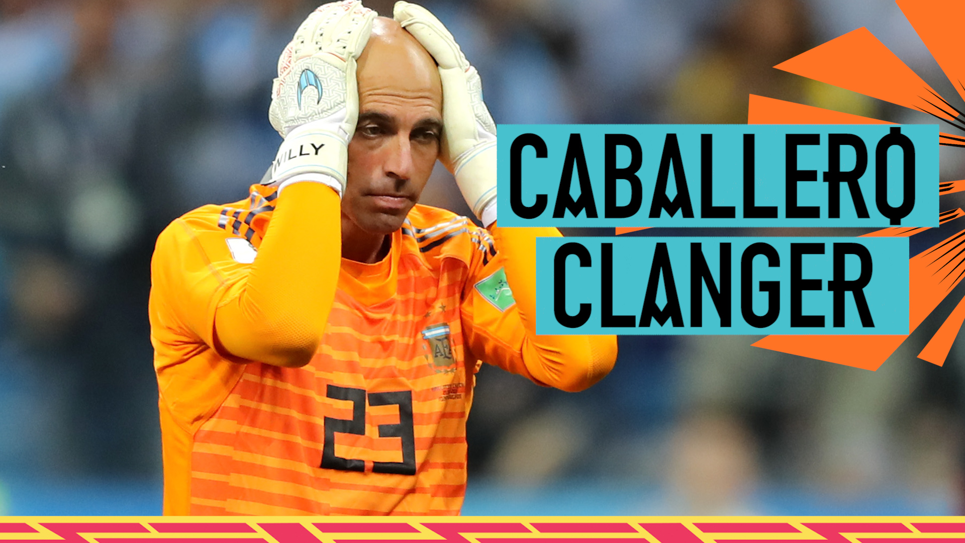 Watch: 'What an awful mistake' - Caballero clanger costs Argentina