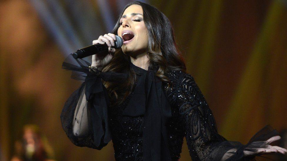 Penyanyi Lebanon Hiba Tawaji