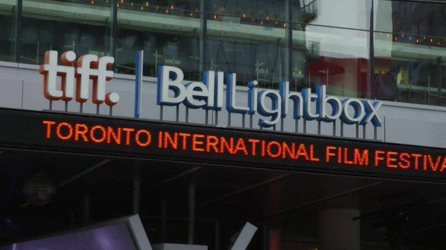 Sign for the Toronto International Film Festival