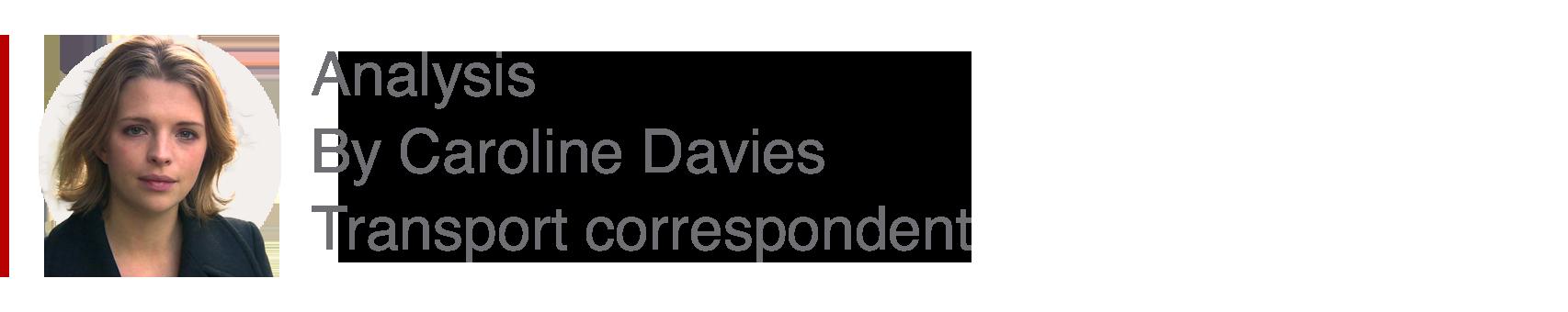 Analysis box by Caroline Davies, transport correspondent