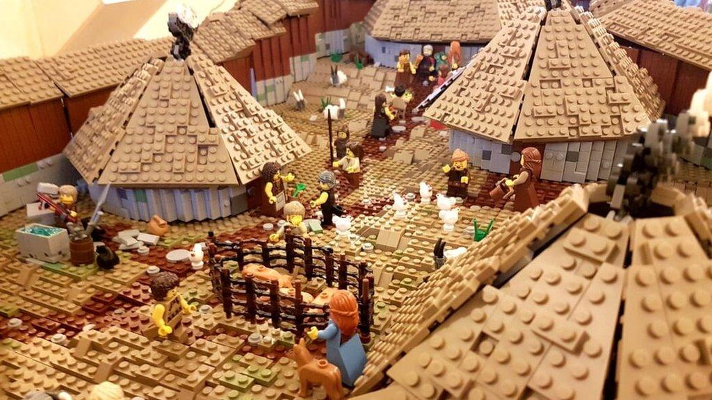 Lego hillfort