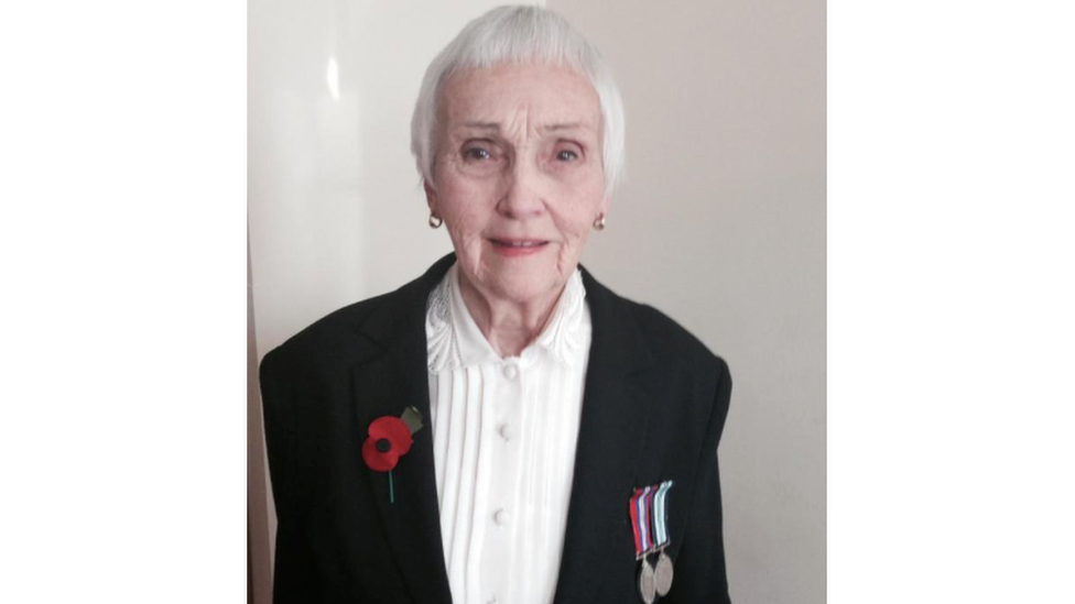 Anne Puckridge, 93, is a British expat who is campaigning against frozen pensions