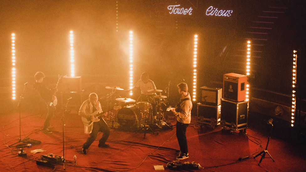 The Lathums playing Blackpool Tower Circus