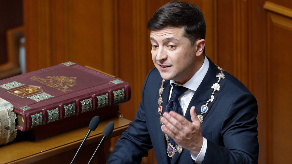 Volodimir Zelenski Ukrajina