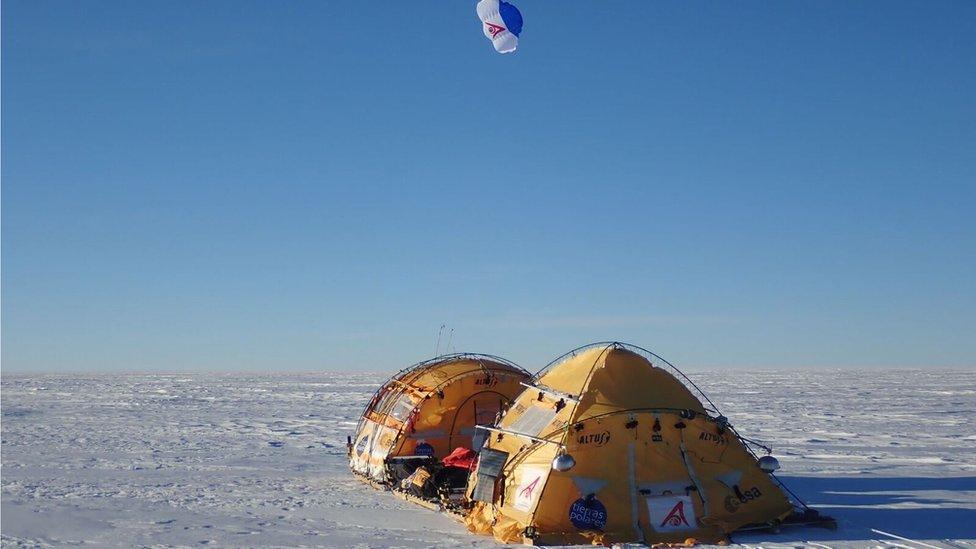 Antártida Inexplorada.